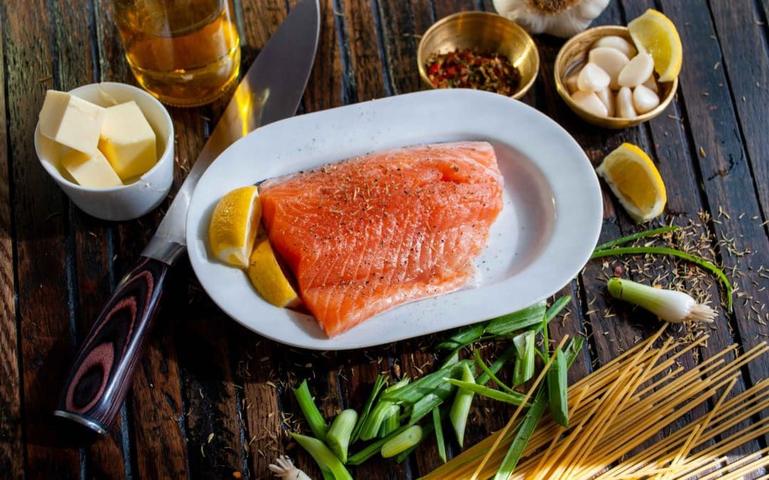 BO BUN – Vermicelle de riz, saumon